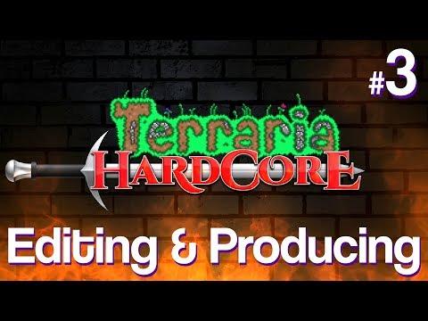 Editing & Producing PBG's Terraria Hardcore Season #3 | Vloggy Thing