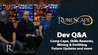 RuneScape Dev Q&A (Jan 2018) - Comp Cape Rework, Mining and Smithing and more