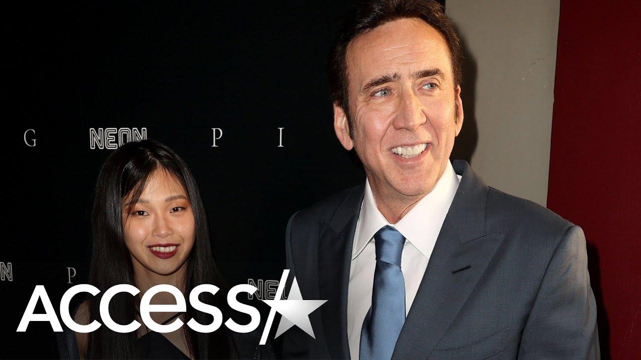 Nicolas Cage Makes Red Carpet Debut w/ Wife Riko