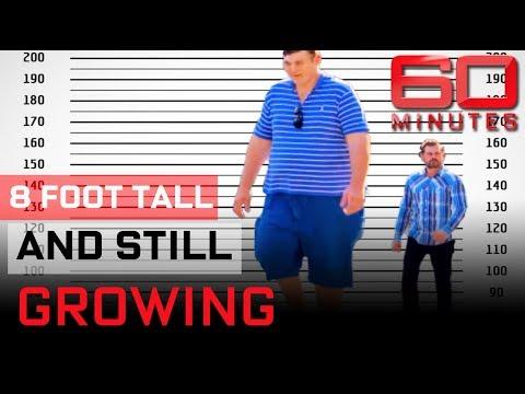 Meet the tallest man in the world |  60 Minutes Australia