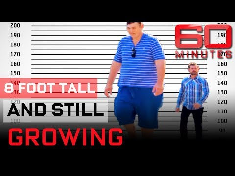 Meet the tallest man in the world |  60 Minutes Australia