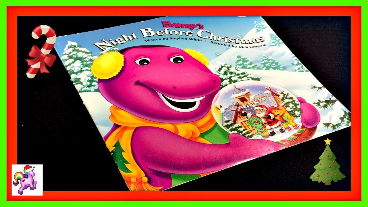 Barney's Night Before Christmas | VHSCollector.com