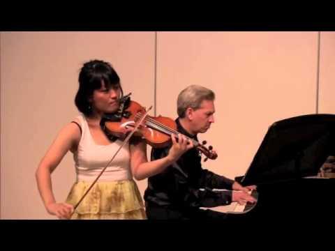 Rei Luu - Brahms Violin Concerto, Mvt 1, Part 1 of 2
