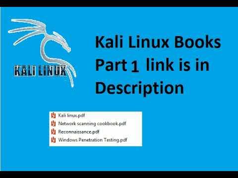 Kali Linux Books Part 1