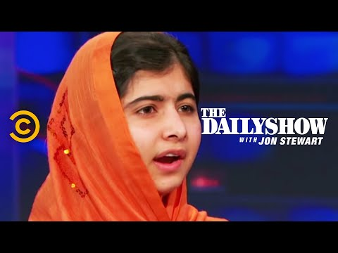 The Daily Show - Malala Yousafzai Extended Interview