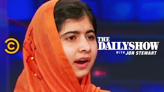 The Daily Show Malala Yousafzai Extended Interview