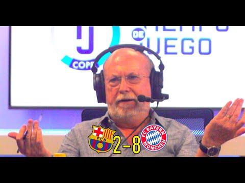 ¡HUMILLACIÓN HISTÓRICA! Así narró el Barcelona 2-8 Bayern Munich en COPE Manolo Oliveros