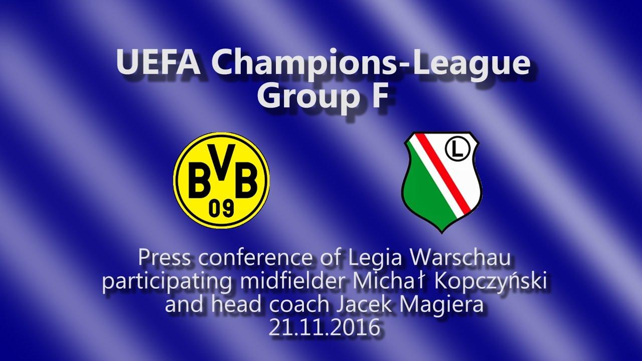 Borussia Dortmund - Legia Warschau: Pressekonferenz zum Spiel