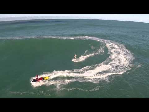 Big Wave Surfing - Sunshine Coast