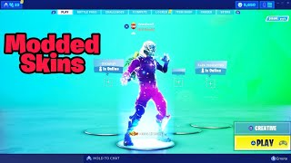 How to get MODDED SKINS on consoles (100% works) Fortnite glitches season 9