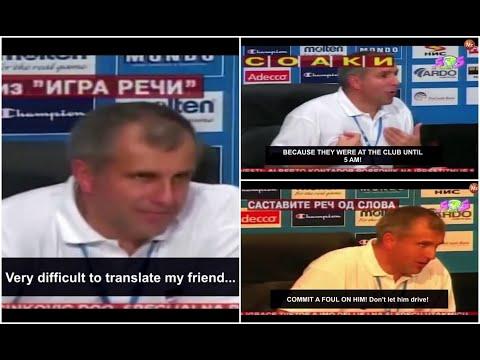 When Željko Obradović gave us the GREATEST press conference