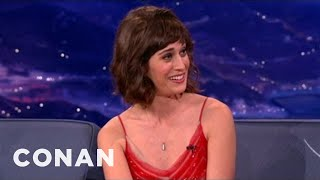 Lizzy Caplan Loved Her Parents' X-rated Cookbook