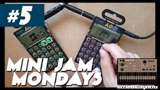 Mini Jam Monday #5 | Teenage Engineering Pocket Operators - PO12 Rhythm & PO20 Arcade