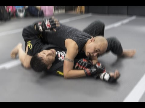 Visiting BJJ master Henry Chan of Fight Club Hong Kong