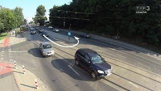 Jedź bezpieczne odc. 703 (na Wielickiej w Krakowie)