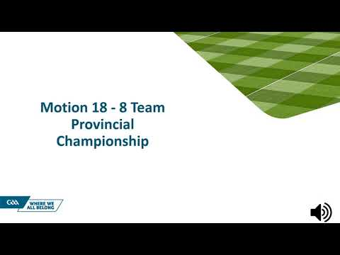GAA Special Congress 2021 - Motions Briefing
