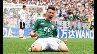 Hirving Lozano Mexico star's best goals as Barcelona target lights up World Cup