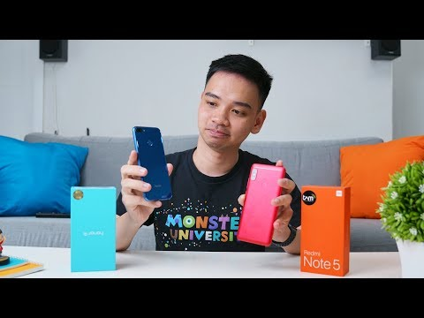 Mencari HP 2 Juta Terbaik! Xiaomi Redmi Note 5 Vs Honor 9i!