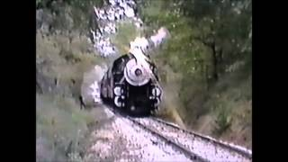 "Texas State Railroad 500 ""spinout"" at Oakland Crossing on Oct. 19, 1992"