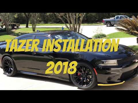 HOW TO INSTALL A TAZER ON A 2018 DODGR CHARGER/CHALLENGER SCATPACK...