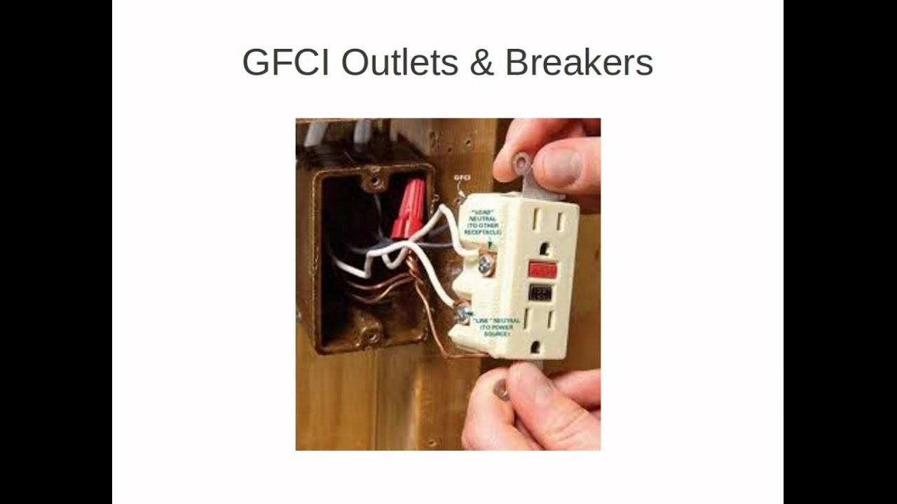 Installing Gfci Circuit Breakers Outlets Youtube Wiring A Outlet