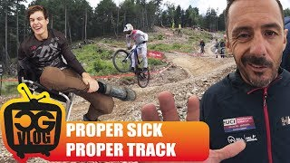 RAW Downhill MTB Practice at UCI World Cup in Vallnord - BADASS TRACK ! - CG VLOG #182