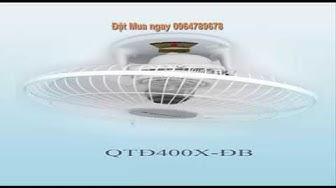 Quạt trần đảo 400 X ĐB# Quạt đảo trần có điều khiển#vinawind#quạt điện cơ