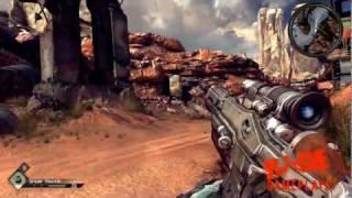 RAGE (PC) Gameplays: Destroy The Barricade