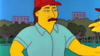 The Simpsons - Don Mattingly Sideburns