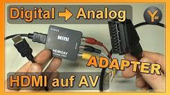 HDMI auf AV Konverter - Macht das Sinn? Gana HDMI2AV Adapter Review