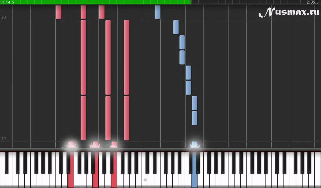 Edward Cullen Bella S Lullaby Cумерки Piano Tutorial Synthesia Sheets Midi Youtube