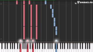 Edward Cullen - Bella`s Lullaby (Cумерки) Piano Tutorial  (Synthesia + Sheets + MIDI)