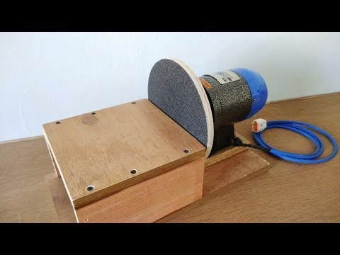 "Make A Disc Sander || Homemade 8"" Disc Sanding Machine"