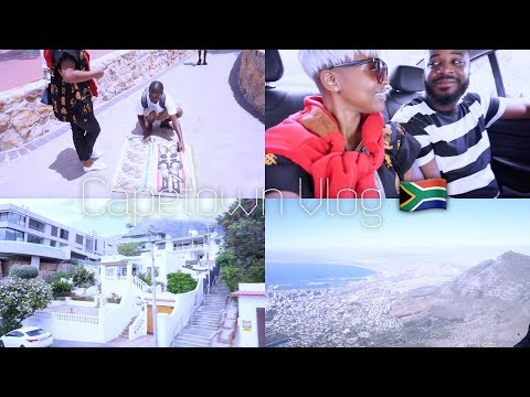CAPETOWN VLOG ... TABLE MOUNTAIN CABLE CAR, ROBBEN ISLAND FAIL, OUT & ABOUT + MORE....