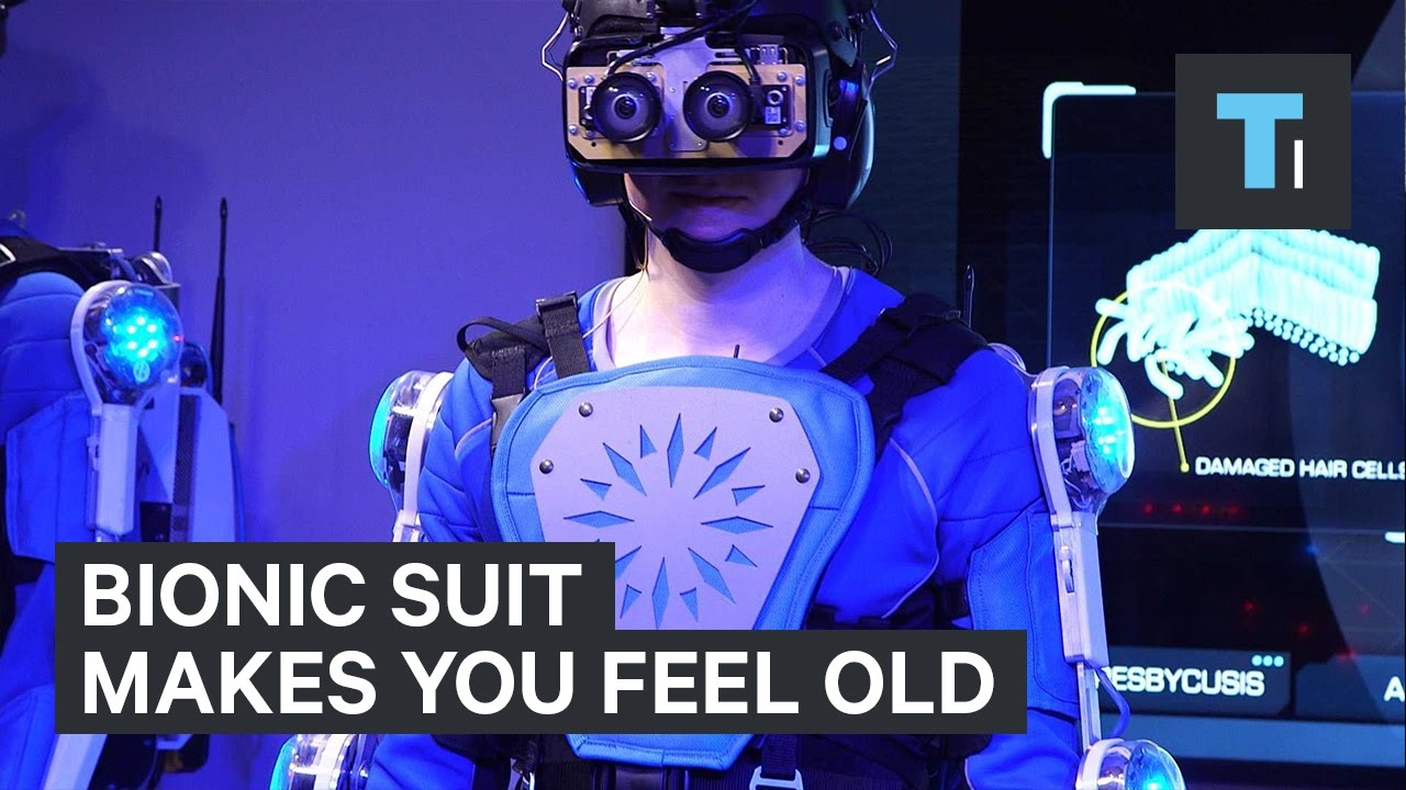 Bionic suit makes you feel old