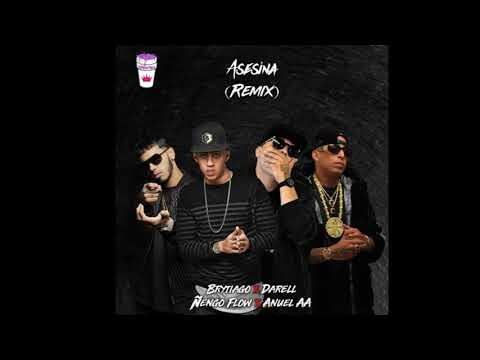 Brytiago, Anuel Aa, Darell Y Ñengo Flow - Asesina Remix (Prod. By : Christay Records)