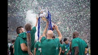panathinaikos c opap athens promitheas bc 111 77 behind the scenes  greek league champions 2019
