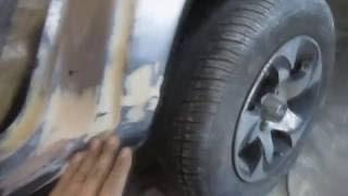 видео ВАЗ 2115: покраска кузова (цвета) и бампера своими руками