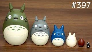 ジブリ映画「となりのトトロ」のマトリョーシカ / Studio Ghibli Totoro Matryoshka. Japanese toy となりのトトロ 検索動画 35