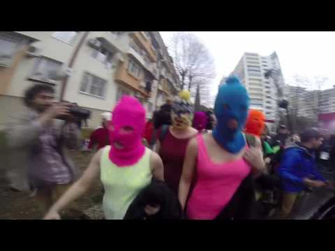 Pussy Riot use footage of cossack horsewhipping in new music video