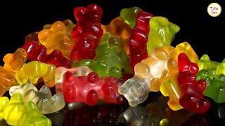 Homemade Gummy Candy/Gummy Bear Recipe without Gelatine by Tiffin Box | Vegan Gummibärchen with agar