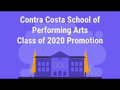 Contra Costa School Of Performing Arts 8th Grade Promotion