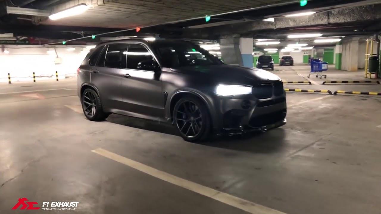 BMW F85 X5M x Zperformance x Fi Exhaust - Aggresive AK47 Sound !
