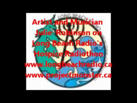 Tofino Artist and Musician Julie Robinson on Long Beach Radio