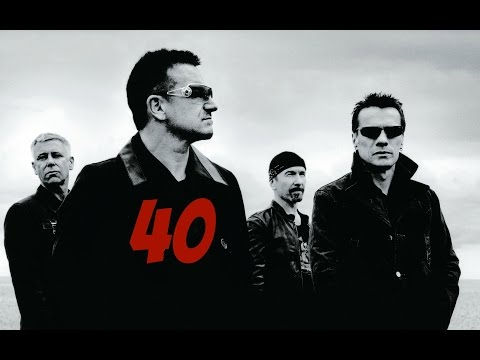 U2 - 40 (Lyrics)