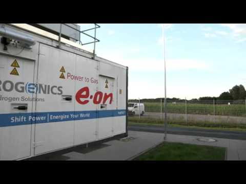 Video-Interview: E.ON WindGas - Innovatives Gas aus Windenergie
