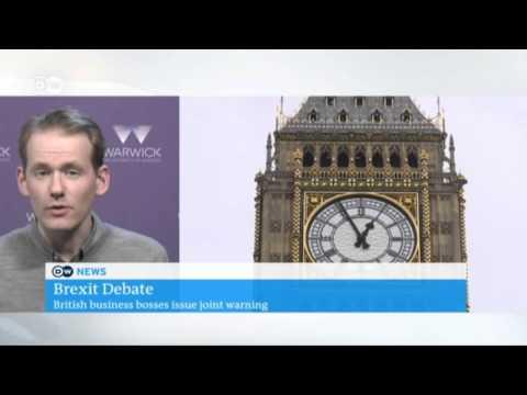 Deutsche Welle news - University of Warwick - Dr Dennis Novey - BREXIT