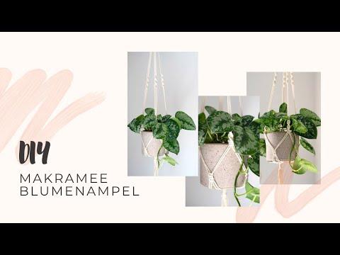 Makramee Blumenampel -