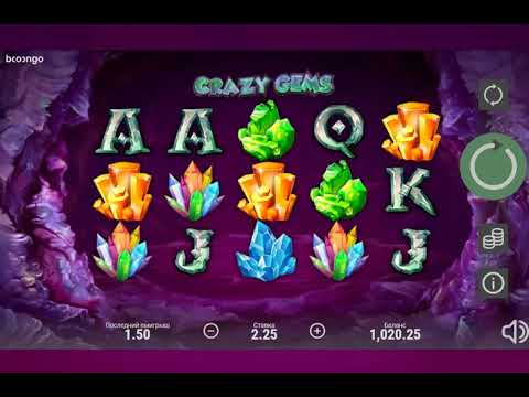 Игровой автомат CRAZY GEMS играть бесплатно и без регистрации онлайн