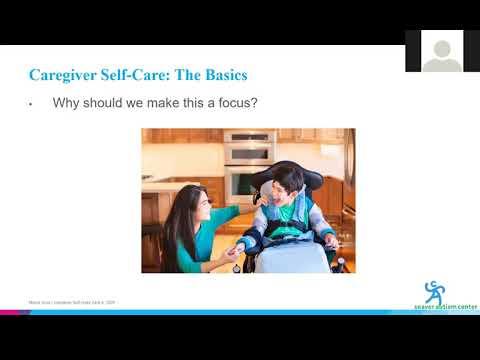 Autism & COVID-19 Webinar 2: Caregiver Self-Care